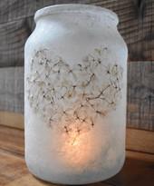 Lace Heart Lantern