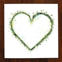 Meadow Heart Card