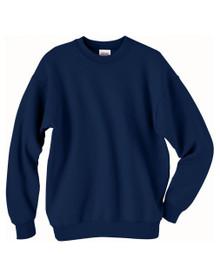 St. Francis Heavy Crew Sweatshirt with School Embroidery