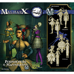 Malifaux Performers and Mannequins - Arcanists - M2E