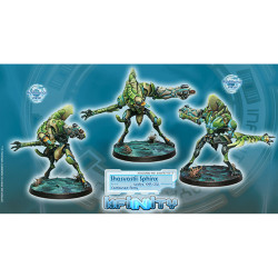 Infinity Shasvastii Sphinx Unit Box (Spitfire, EXP, CCW) (TAG) - Combined Army