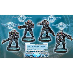 Infinity Morat Vanguard Infantry (4) - Combined Army