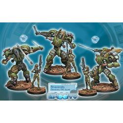 Infinity Anaconda TAG Squadron (2) - Mercenaries