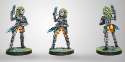 Infinity Sukeul Commandos (K1 Combi Rifle) - Tohaa