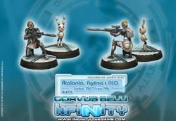Infinity - Atalanta, Agema's NCO and Spotbot - ALEPH