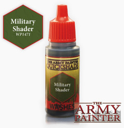 Army Painter: Warpaints Military Shader 18ml