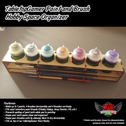 TTG Modular Paint and Brush Hobby Space Organizer