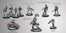 Infinity Steel Phalanx 300 Point Pack - ALEPH