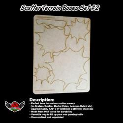 Scatter Terrain Bases Set 2