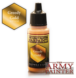 Army Painter: Warpaints Greedy Gold 18ml