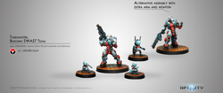Infinity Taskmaster - Bakunin SWAST Team - Nomads