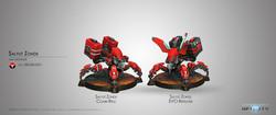 Infinity Salyut Zonds (EVO Repeater, Combi Rifle) - Nomads