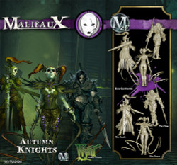 Malifaux Autumn Knights - Neverborn - M2E