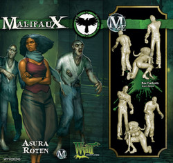 Malifaux Asura Roten - Resurrectionists - M2E