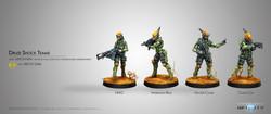 Infinity Druze Shock Teams - Mercenaries