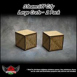 Steamcliff City Large Crate Set - 2 Pack