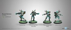 Infinity Kaauri Sentinels (Submachine Gun/Sniper) - Tohaa