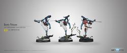 Infinity Saito Togan (Combi Rifle) - Mercenaries