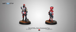 Infinity Zoe & Pi-Well, Special Clockmakers Team (Engineer & Remote) - Nomads