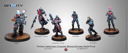Infinity Tunguska Jurisdictional Command Sectorial Starter Pack (6) - Nomads