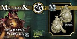 Malifaux Marlena Webster - The Outcasts - M2E