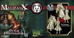 Malifaux Guild Investigators - Guild - M2E