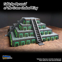 Tabletop Pyramid of the Green Undead King