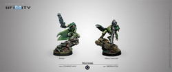Infinity Noctifers (Spitfire / Missile Launcher) - Combined Army