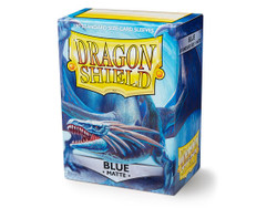 Dragon Shield Card Protectors - Matte - Blue - 100 Pack