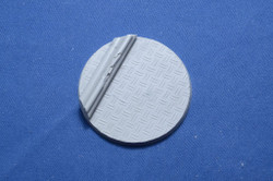 Elriks Diamond Plate Round Bases - 60mm A - Round - 1 pack