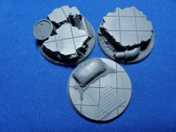 Elriks City Ruins Round Bases - 50mm - Round - 3 Pack