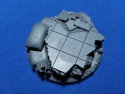 Elriks City Ruins Round Bases - 60mm A - Round - 1 pack