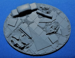Elriks City Ruins Round Bases - 120x92mm - Oval - 1 Pack