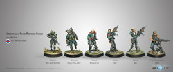 Infinity F.R.R. Merovingienne Sectorial Starter Pack - Ariadna