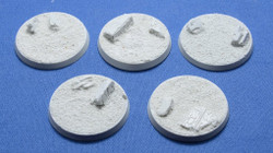 Elriks Egyptian Ruins Round Bases - 40mm - Round - 5 Pack