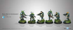 Infinity Shock Army of Acontecimento Sectorial Stater Pack - PanOceania