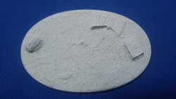 Elriks Egyptian Ruins Round Bases - 105x70mm B - Oval - 1 Pack