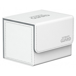 Ultimate Guard - Deck Box - Sidewinder XenoSkin White - 100+