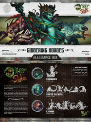 The Other Side - Gibbering Hordes Allegiance Box - Storm Siren