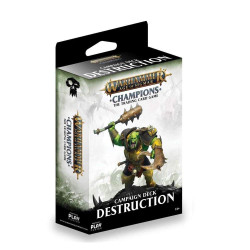 Warhammer Age of Sigmar Champions TCG - DESTRUCTION Campaign Deck