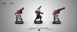 Infinity Kurgats, Reg. of Assault Engineers - Combined Army