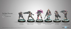 Infinity The Steel Phalanx Sectorial Starter Pack - ALEPH