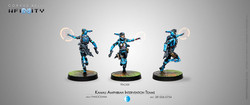 Infinity Kamau Amphibian Intervention Teams (Hackers) - Panoceania