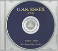 USS Essex CVA 9 CRUISE BOOK Log 1950-1951 CD