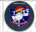 USS Charles P Cecil DDR 835 1952 - 1953 Cruise Book CD