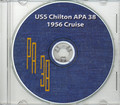 USS Chilton APA 38 1956 Cruise Book CD