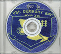 USS Duxbury Bay AVP 38 1957-58 Cruise Book CD