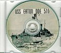 USS Eaton DDE 510 1954 Cruise Book on CD RARE