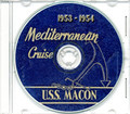 USS Macon CA 132 CRUISE BOOK Log 1953 - 1954 CD Navy
