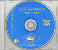 USS McDermut DD 677 1959 Cruise Book CD RARE